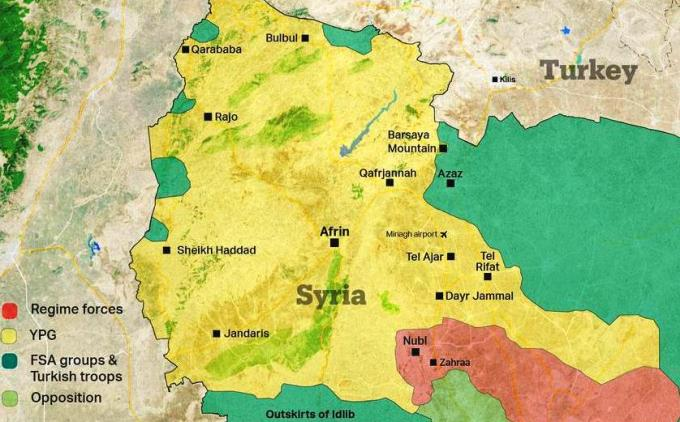 Syria Behind Operation Olive Branch News views from emerging